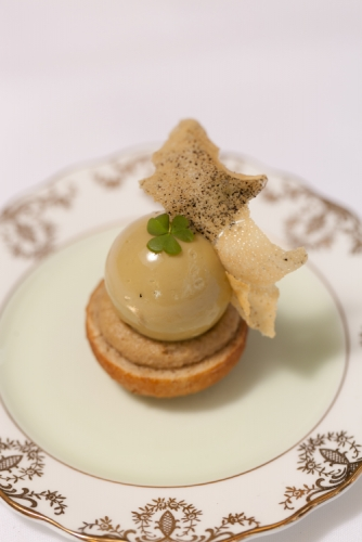 Duck Parfait and Pear