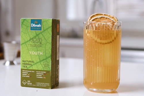 Youth Infused Gin Soda