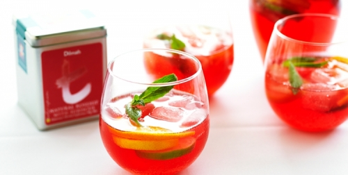 Fizzy Rose Ice Tea