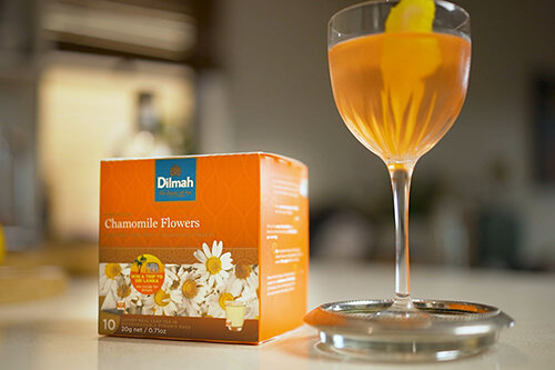 Dilmah Chamomile Tea Martini