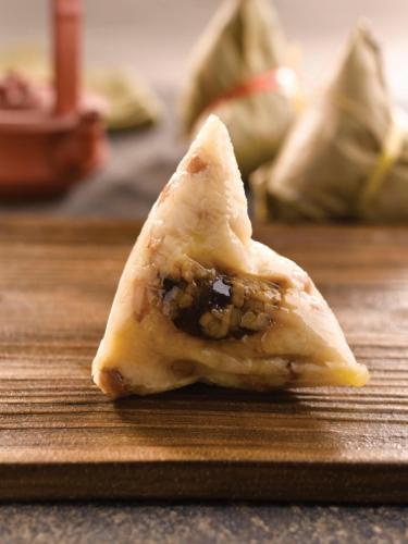 Hakka-Style Mushroom Peanut Zongzi