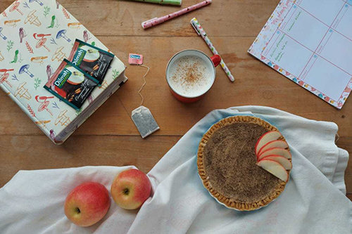 Tea & Cashew Pie
