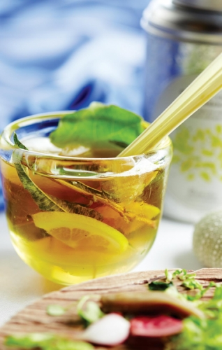 NATURAL LEMON VERBENA INFUSION MOCKTAIL