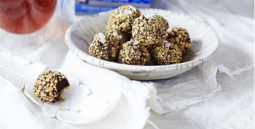 Dilmah Earl Grey infused Chocolate Truffles