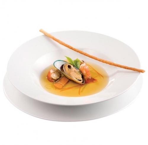 Seafood and Camomile Bouillon