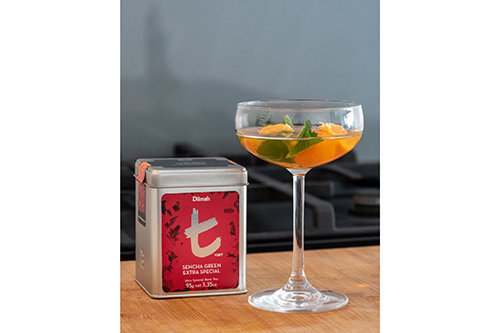 Sencha Mandarin Mocktail