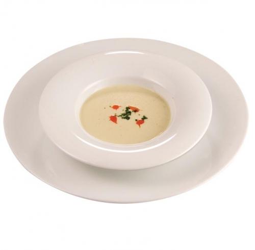 Creamy Mint Chicken Soup