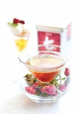 French Vanilla and Rose Martini