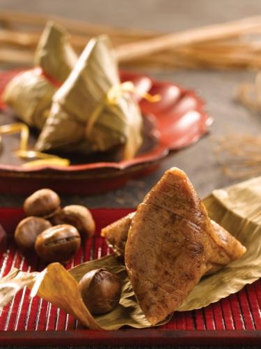 Fujian Chestnut & Meat Zongzi