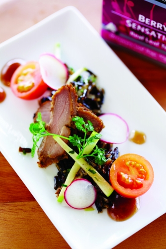 BERRY SENSATION PORK FILLET WITH WILD RICE SALAD