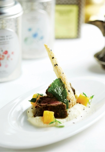 TEA-INSPIRED LAMB LOIN