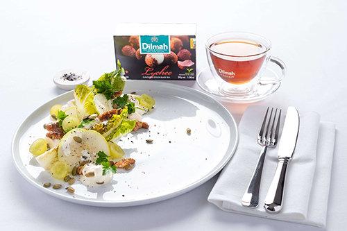 Witlof Waldorf with Lychee Tea Salt
