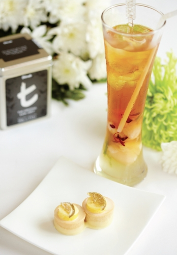 "THE ORIGINAL ICED ""EARL GREY"" TEA FLAVOURED WITH KAFFIR LIME AND LYCHEE"