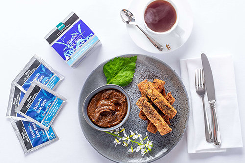 Chickpea Fries, Date and Earl Grey Tea Ketchup