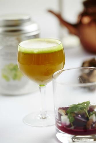 GREEN TEA AND JASMINE MOCKTAIL