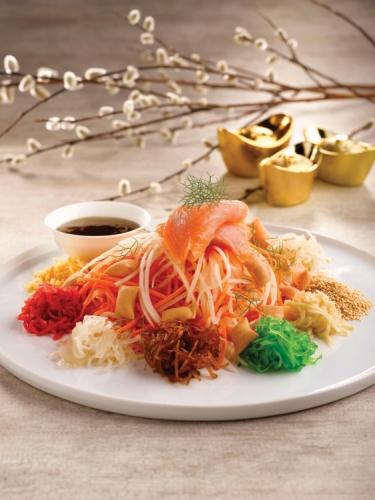 Prosperity Toss / Yu Sheng with Sencha Plum Sauce