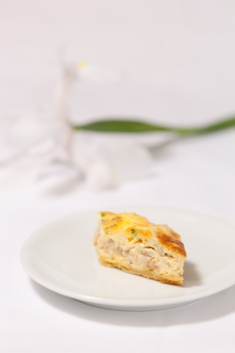 Manuka-Smoked Trevally Quiche