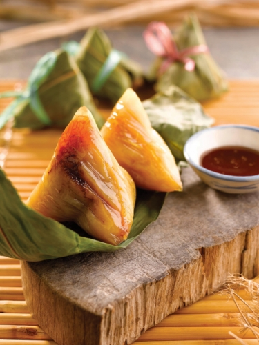 Fujian Soda / Lye Zongzi with Red Bean Paste