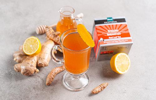 Turmeric Tea Brew
