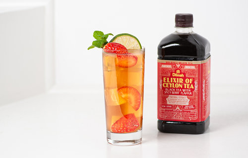 Spicy Berry Iced tea