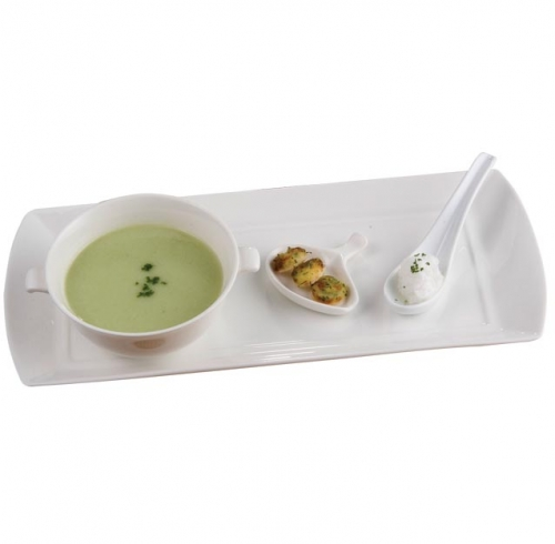 Chilled Cucumber Soup with Oolong Tea