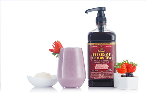 Dilmah Elixir Berry Lychee Smoothie