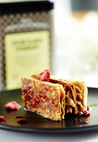 TEA-INFUSED STRAWBERRY MILLE FEUILLE