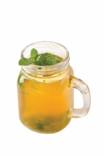 Pure Peppermint Iced Tea