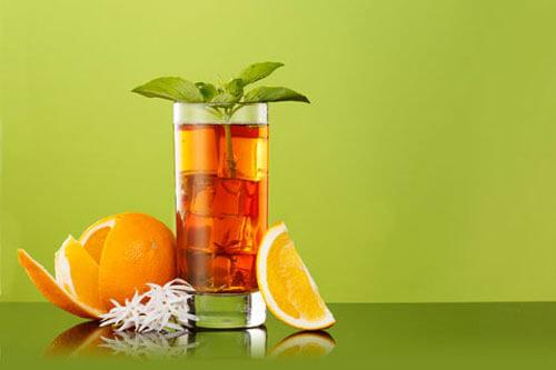 Green Tea with Jasmine Iced Tea