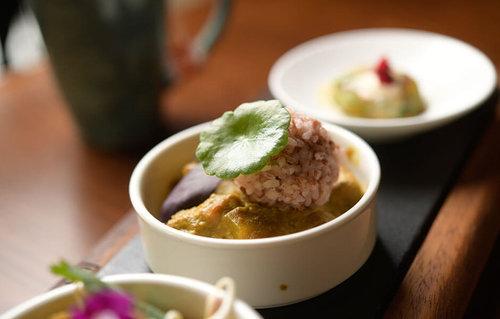 Dilmah Tropical Breakfast Balinese Vegan Curry