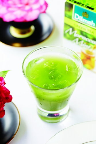 DILMAH GREEN TEA MOROCCAN MINT BOOST