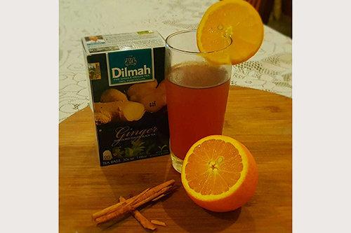 Spiced Orange Iced Tea