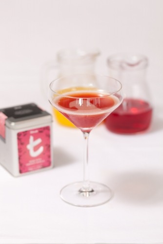 Rose with French Vanilla Cosmopolitan