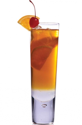 Green Tea and Orange Mocktail