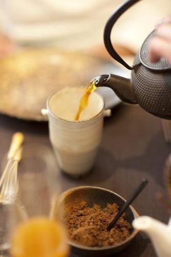 Dilmah Gourmet Earl Grey Elaicha hot tea mocktail