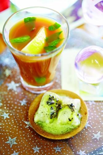CITRUS ICED TEA MOCKTAIL