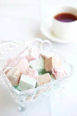 Exceptional Rose and French Vanilla marshmallows