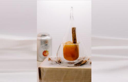 Ceylon Apple Pie & Vanilla Crush Mocktail